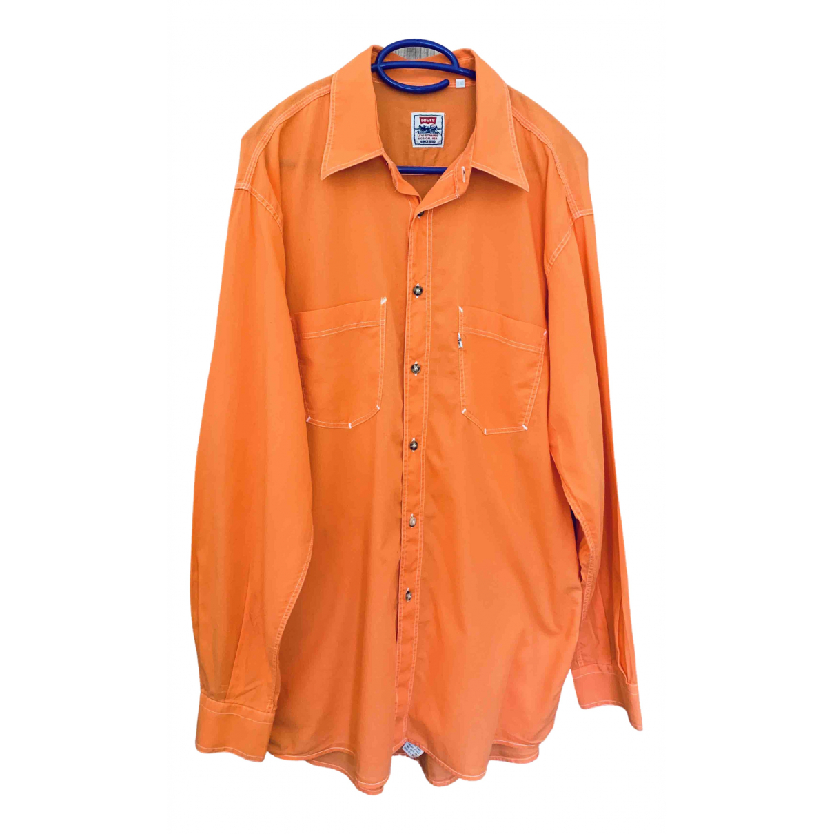 Levis \N Orange Cotton Shirts for Men L International