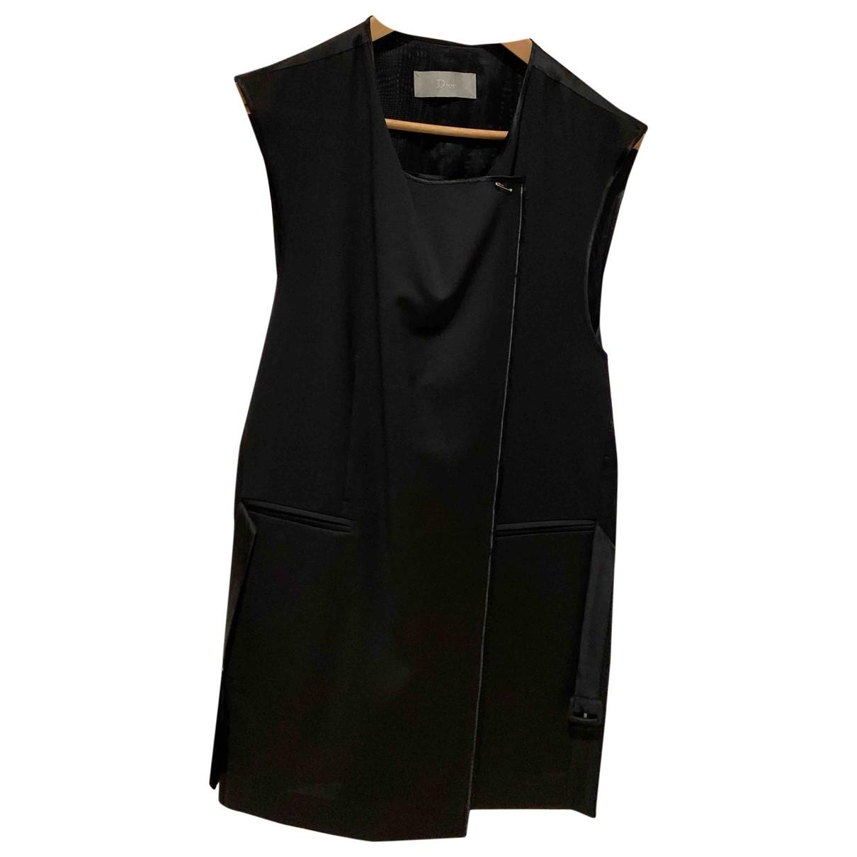 Dior Homme \N Jacke in  Schwarz Wolle