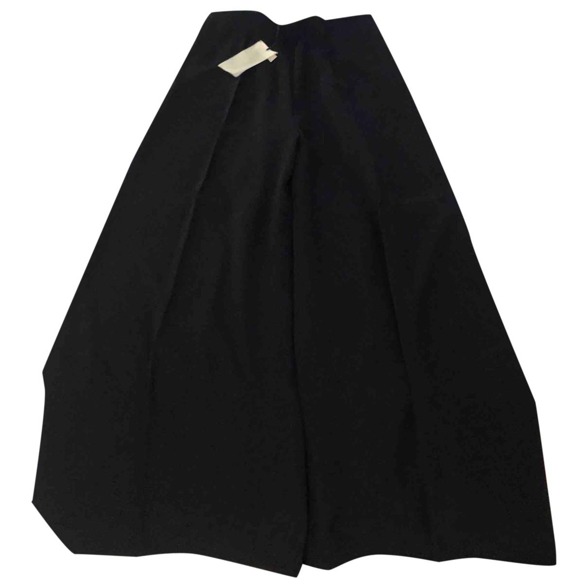 Sport Max \N Black Trousers for Women 48 IT