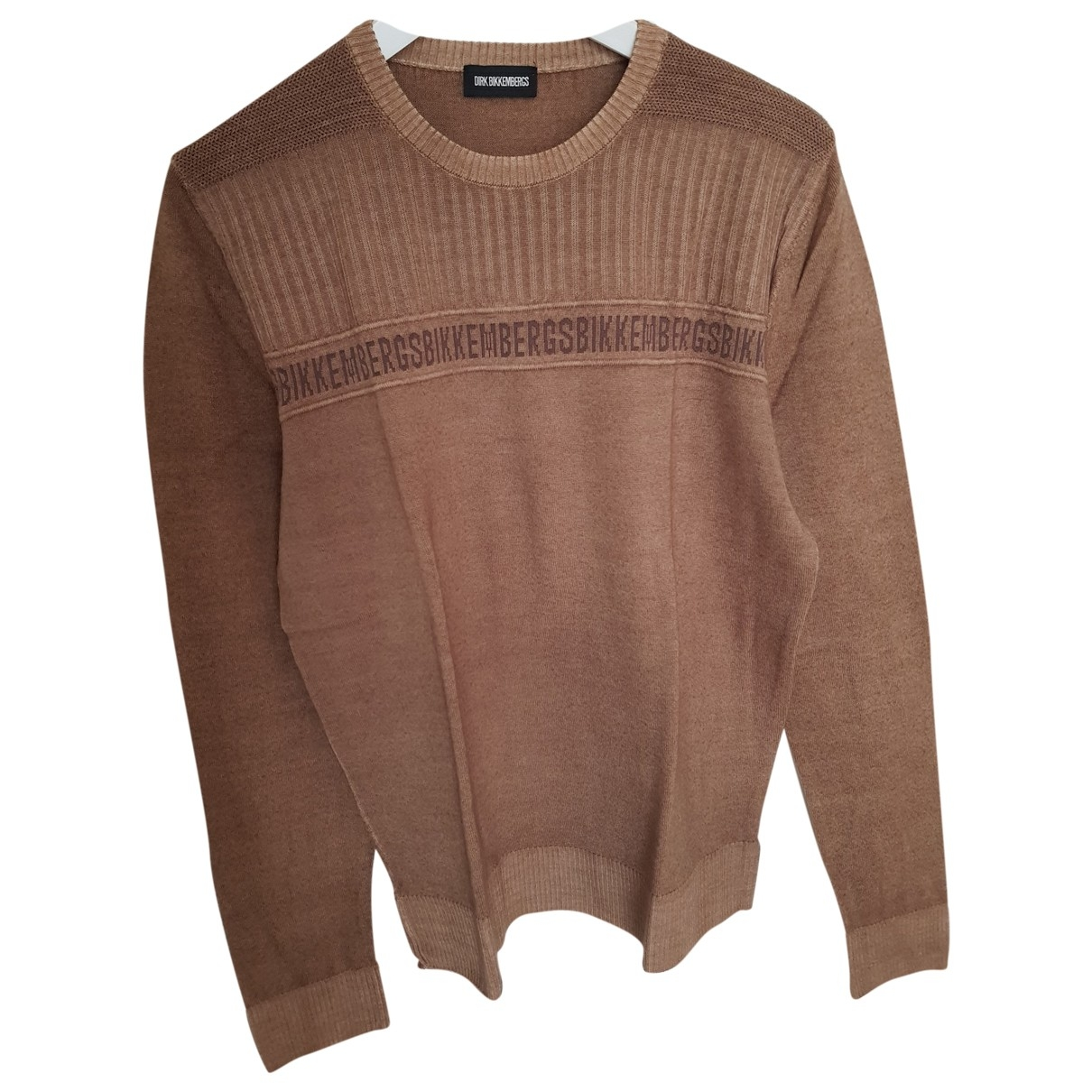 Dirk Bikkembergs \N Camel Wool Knitwear & Sweatshirts for Men M International