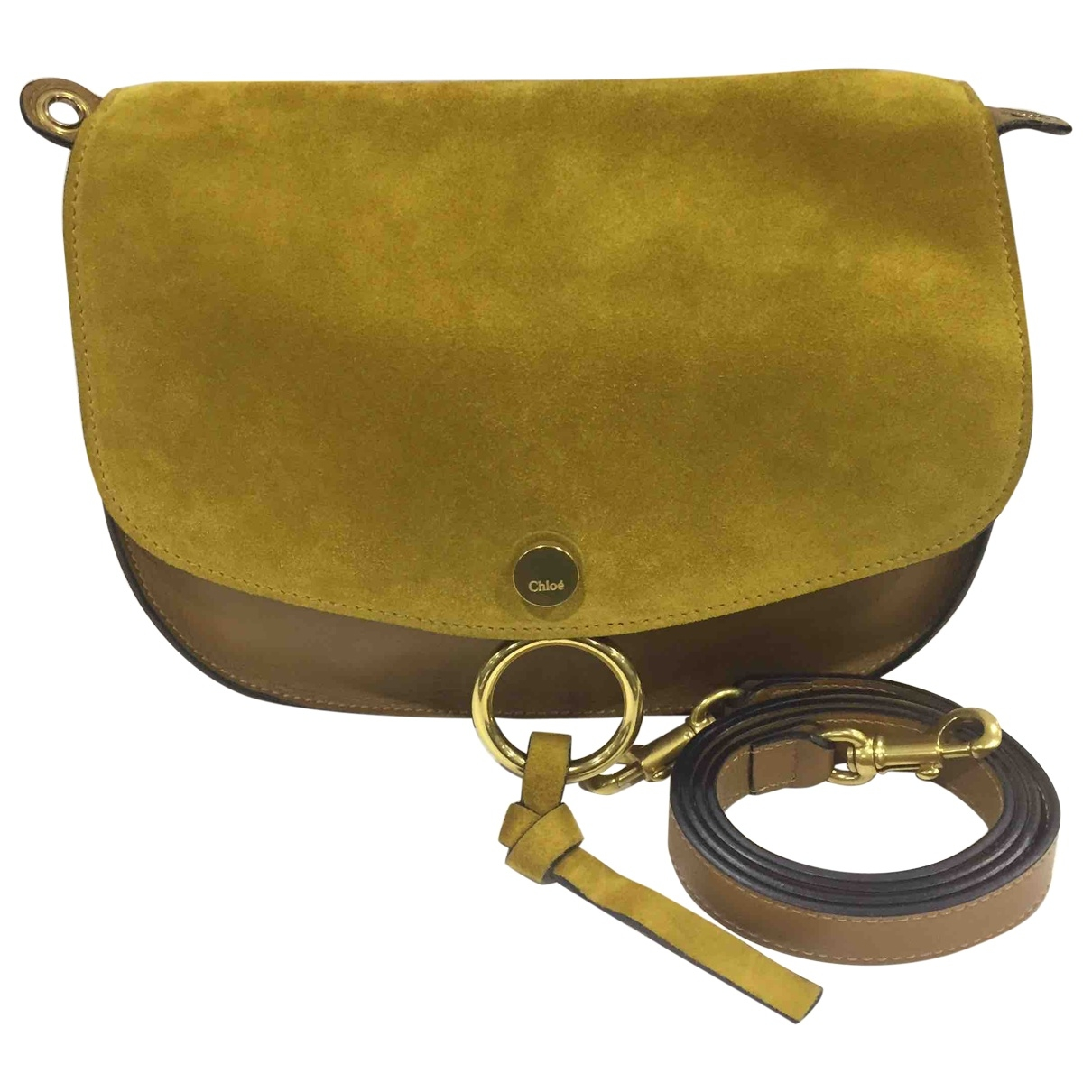 Chloé Kurtis Brown Suede handbag for Women \N