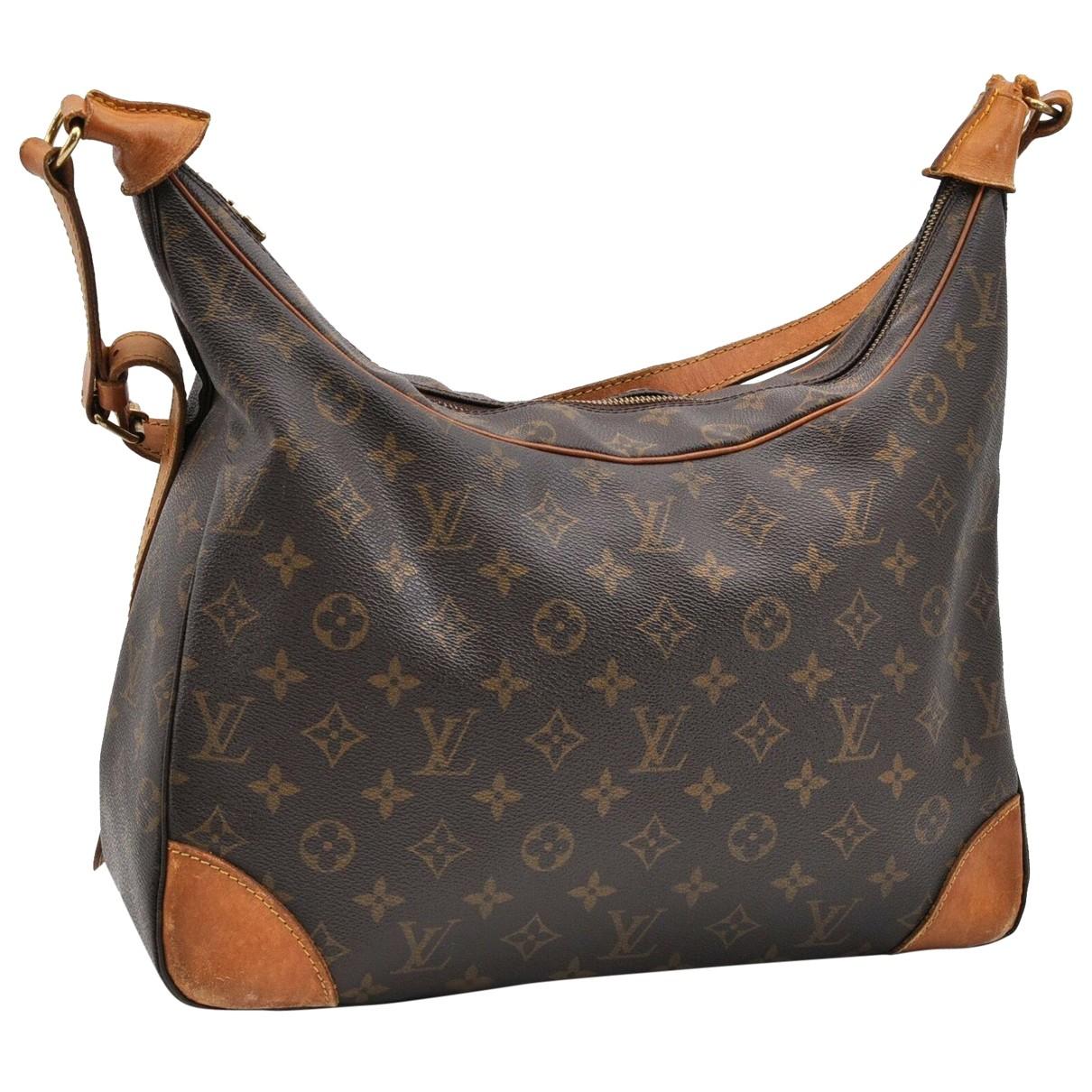 Bolso Boulogne de Lona Louis Vuitton
