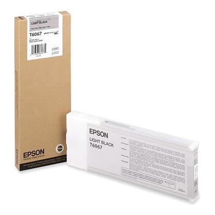 Epson T606700 cartouche d'encre originale noire clair