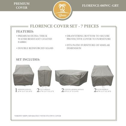FLORENCE-08fWC-GRY Protective Cover Set  for FLORENCE-08f in
