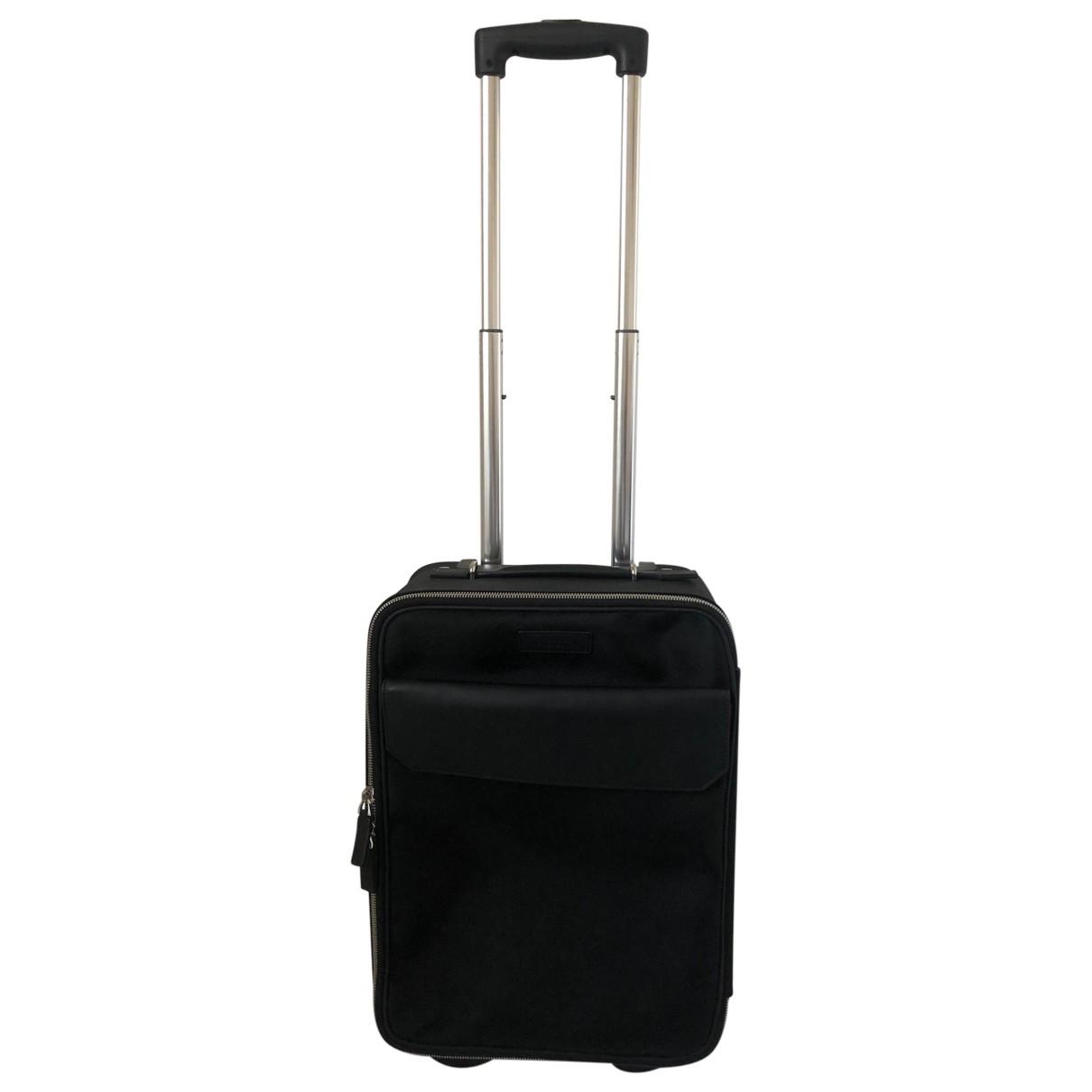 Versace - Sac de voyage   pour femme en toile - noir