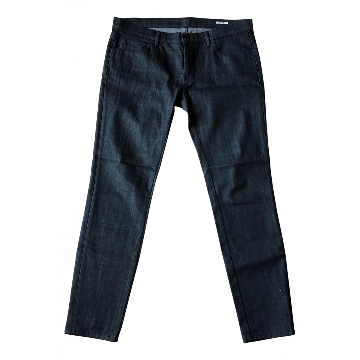 Pantalon recto Miu Miu