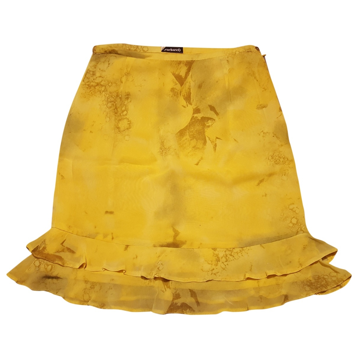 Cacharel - Jupe   pour femme - jaune