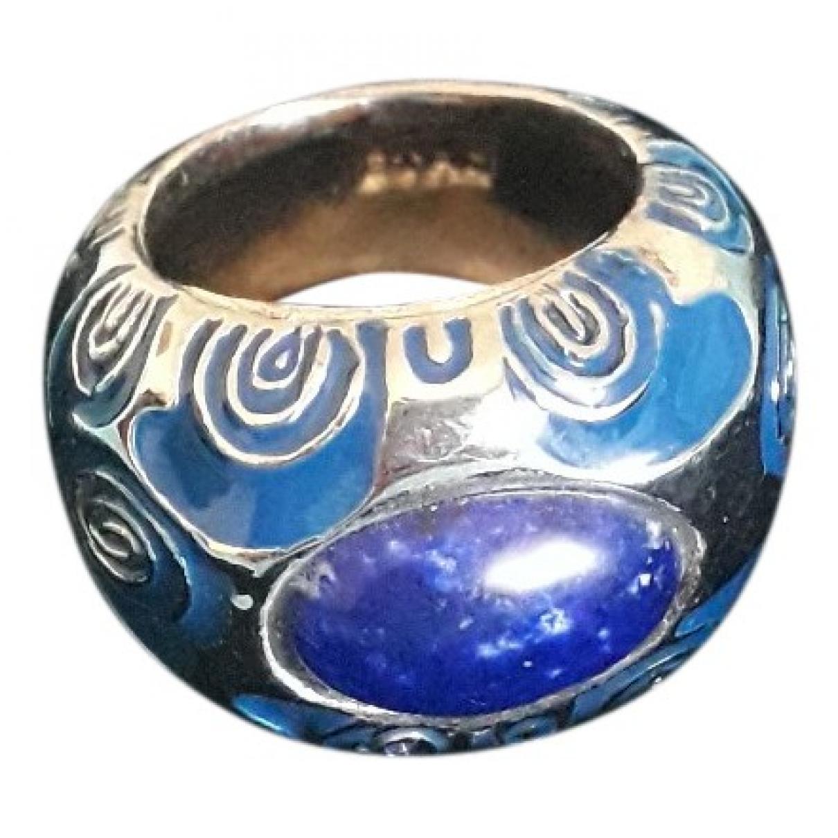 Etro - Bague   pour femme en acier - bleu