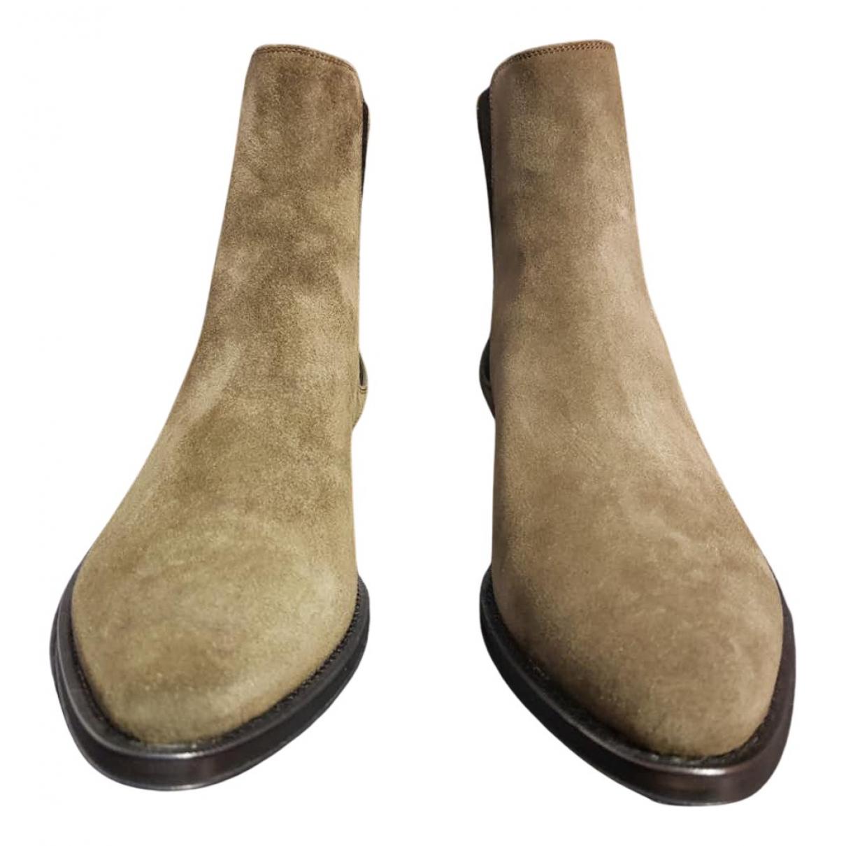 Botas de Cuero Celine
