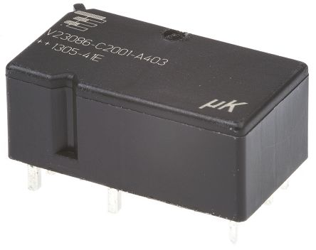 TE Connectivity , 12V dc Coil Automotive Relay DPDT, 25A Switching Current PCB Mount, 2 Pole