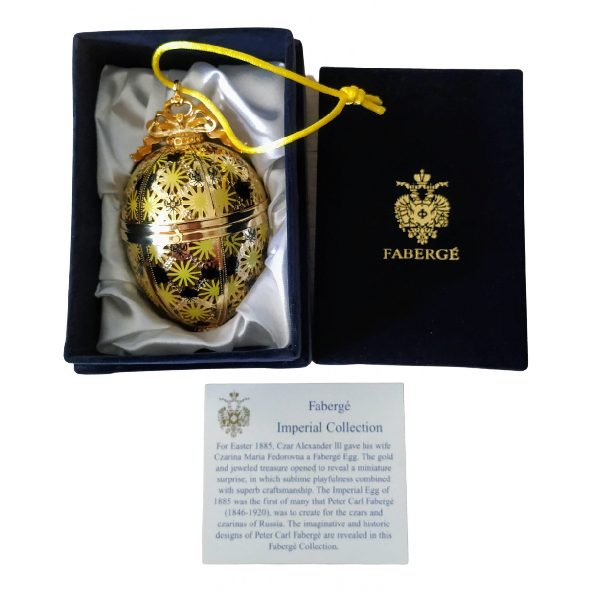 Faberge - Objets & Deco   pour lifestyle en or jaune - dore