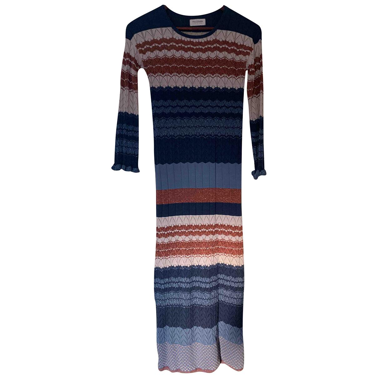 Falconeri \N Kleid in  Bunt Baumwolle