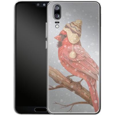 Huawei P20 Silikon Handyhuelle - First Snow von Terry Fan