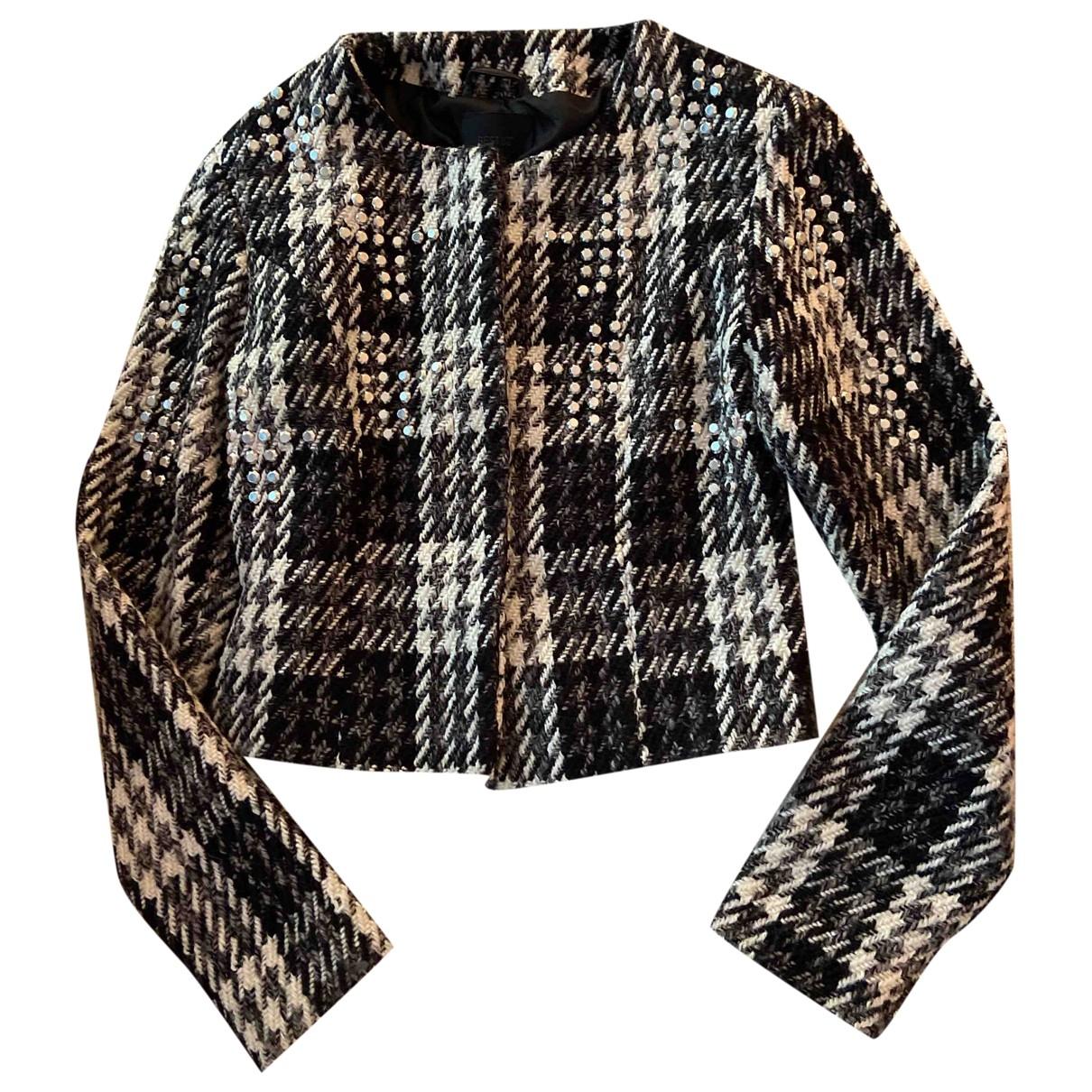 Gestuz - Manteau   pour femme en laine - gris