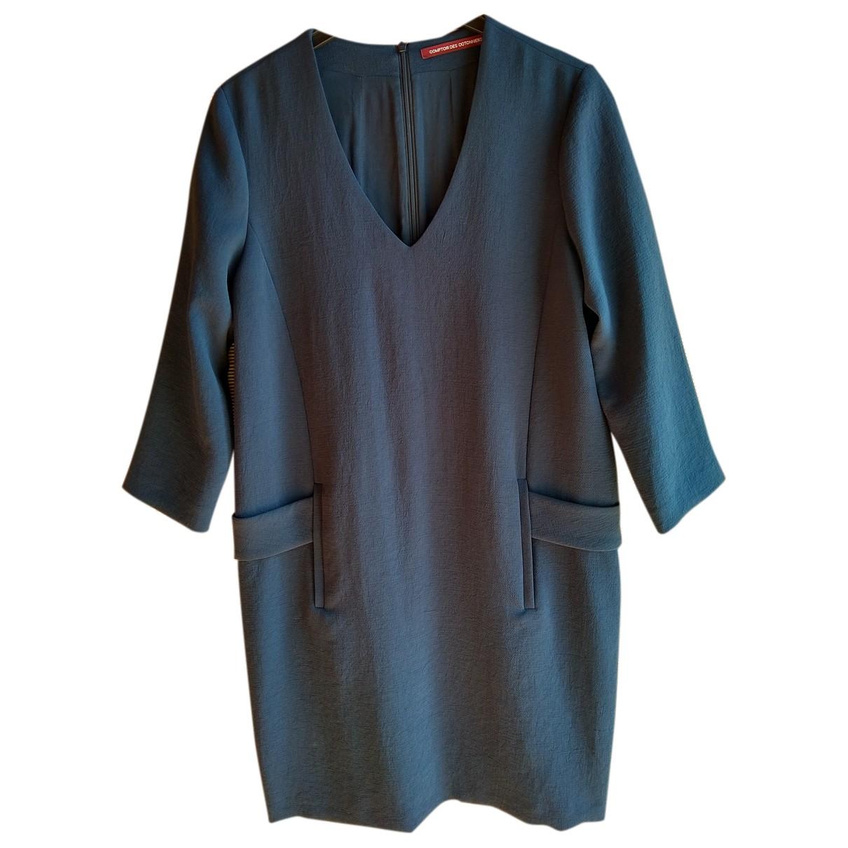 Comptoir Des Cotonniers \N Kleid in  Blau Polyester