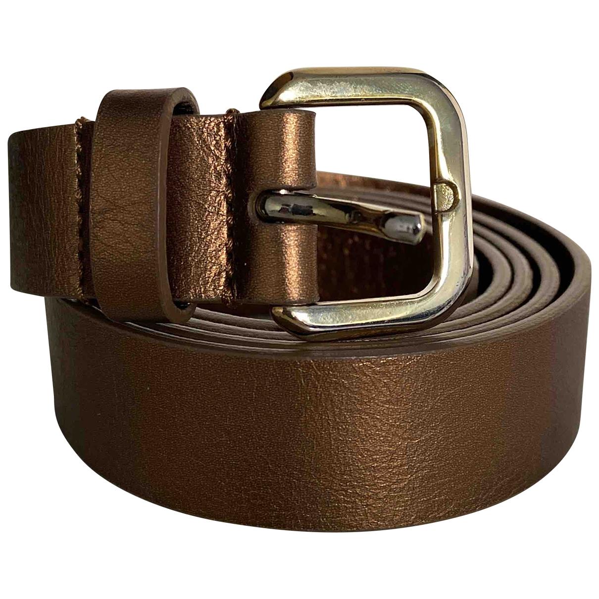 Cinturon de Cuero Massimo Dutti