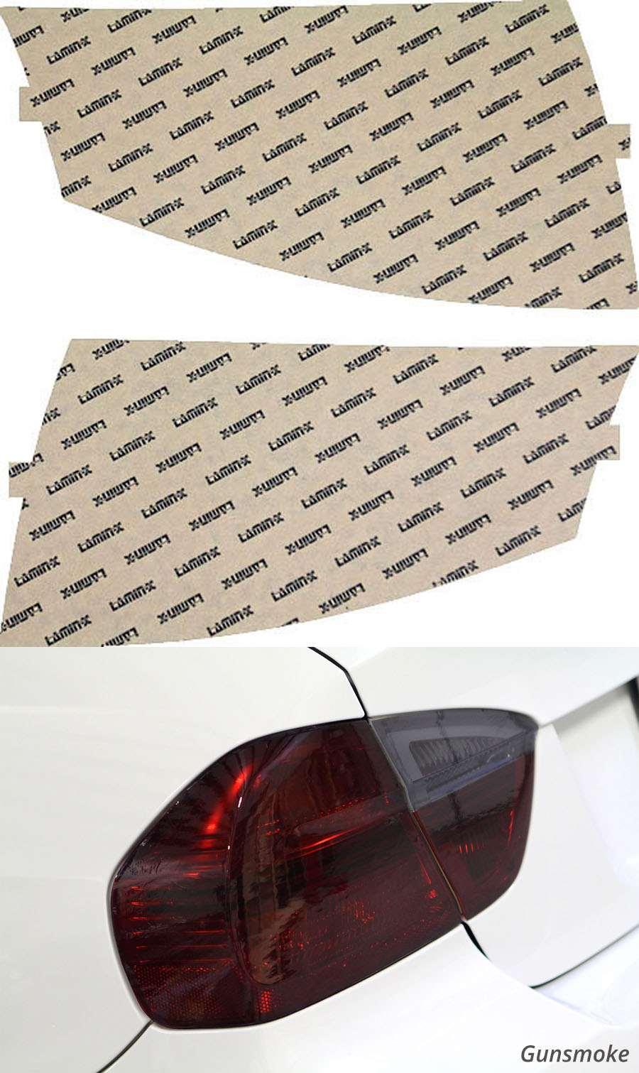 Audi TT 99-07 Gunsmoke Tail Light Covers Lamin-X A204G