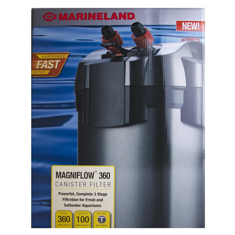 Marineland Magniflow 360 Canister Filter Home Good - Black