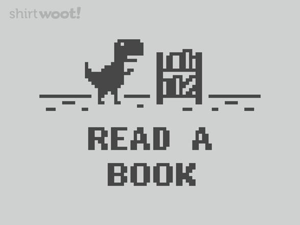 Reading Dino T Shirt