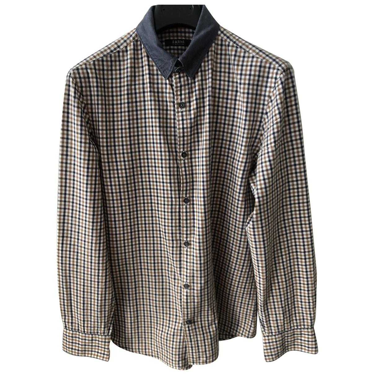 Farhi By Nicole Farhi \N Hemden in  Beige Baumwolle