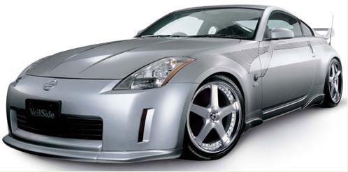 VeilSide 2003-2005 Nissan 350Z Fairlady Z Z33 Ver. I Model FRP Front Lip Spoiler (FRP)