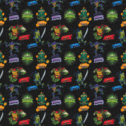 Ninja Turtles 1 Gift Wrap Roll 30