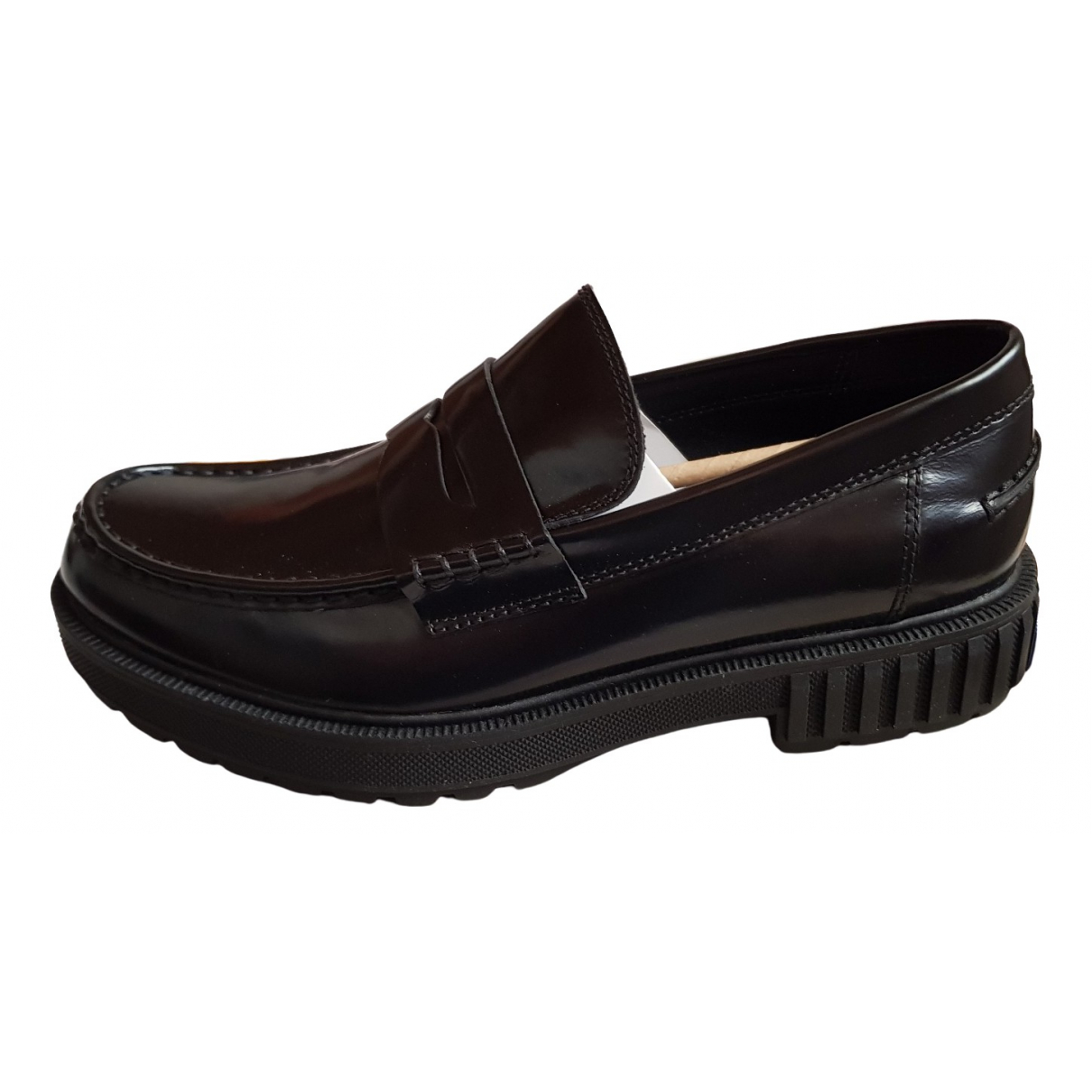 Calvin Klein \N Black Patent leather Flats for Men 42 EU