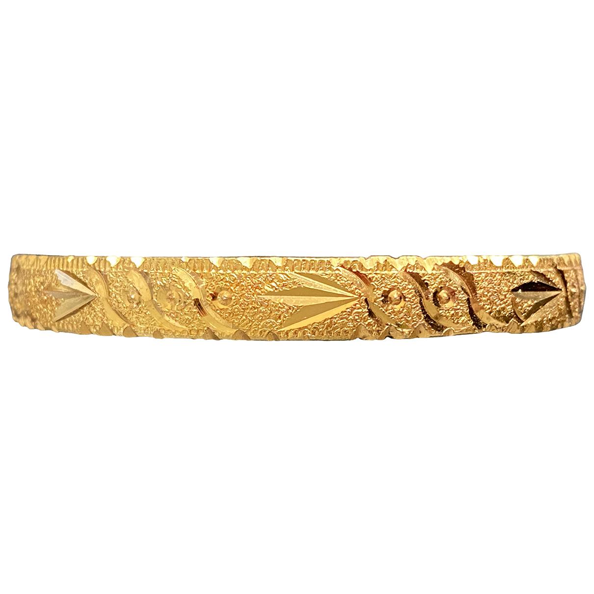 - Bracelet   pour femme en plaque or - dore