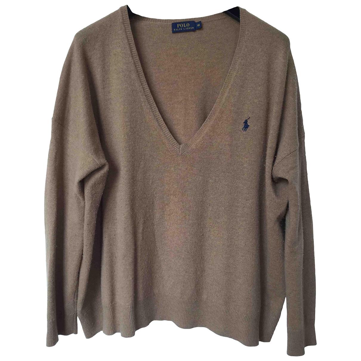Polo Ralph Lauren \N Pullover in  Beige Kaschmir