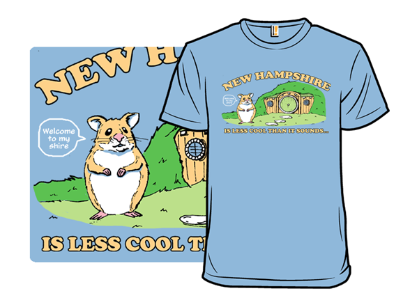 Hamster Shire T Shirt