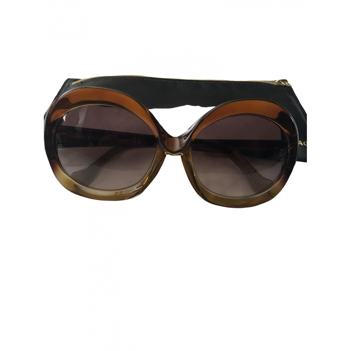 Balenciaga \N Brown Sunglasses for Women \N