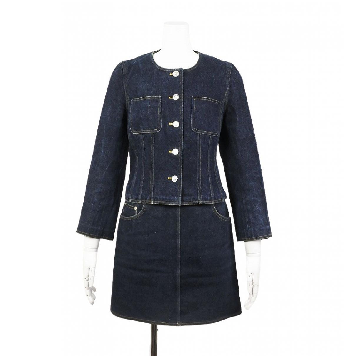 Chanel \N Blue Cotton jacket for Women 38 FR