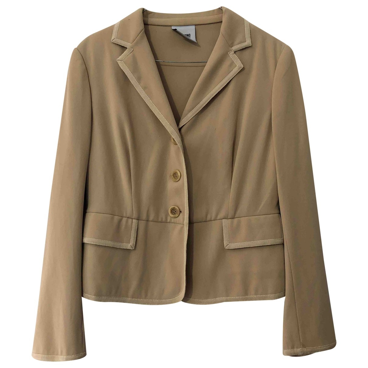 Moschino Cheap And Chic \N Beige jacket for Women 44 IT