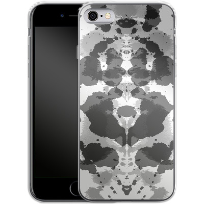 Apple iPhone 6s Silikon Handyhuelle - Mind Games Black von caseable Designs