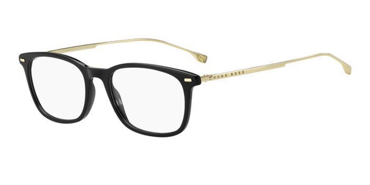 Boss by Hugo Boss Boss 1015 2M2 Men's Glasses Black Size 51 - Free Lenses - HSA/FSA Insurance - Blue Light Block Available