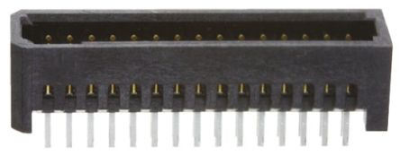 Samtec , Tiger Eye TFM, 30 Way, 2 Row, Straight PCB Header