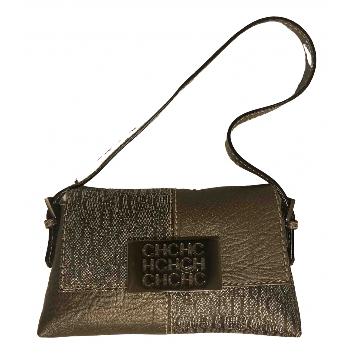 Carolina Herrera N Khaki Leather handbag for Women N