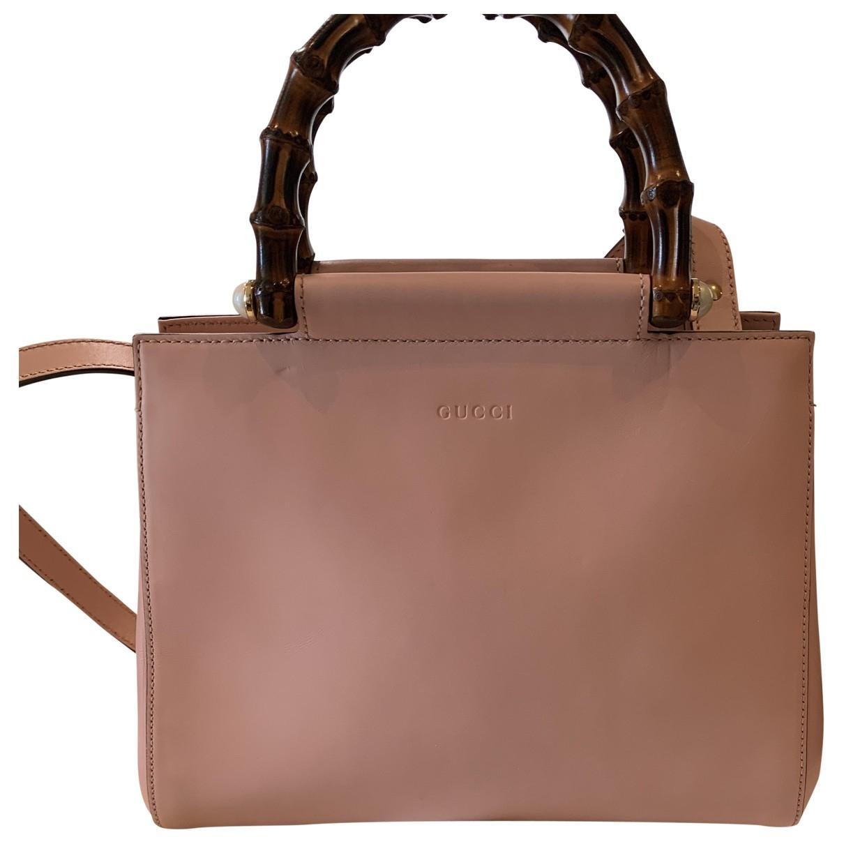 Gucci - Sac a main Nymphaea pour femme en cuir - rose