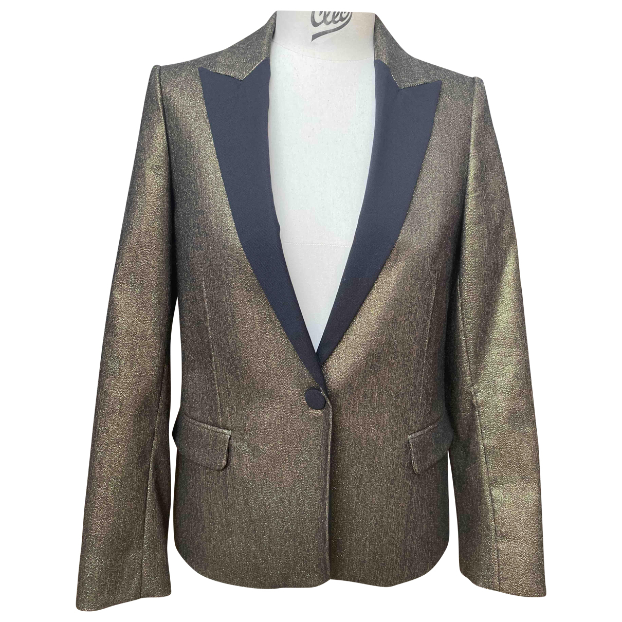 Zadig & Voltaire \N Gold jacket for Women 38 FR