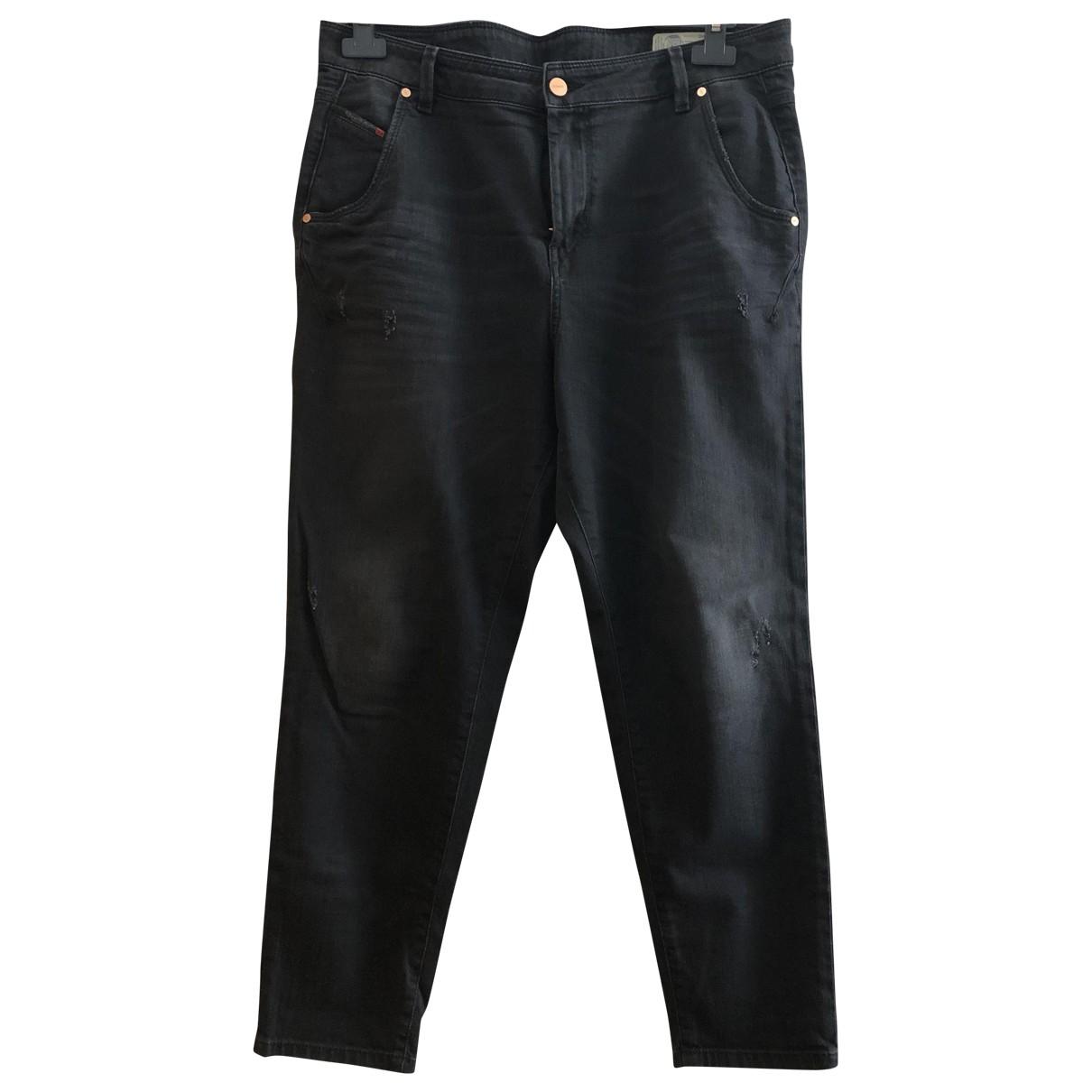 Diesel \N Black Denim - Jeans Jeans for Women 31 US