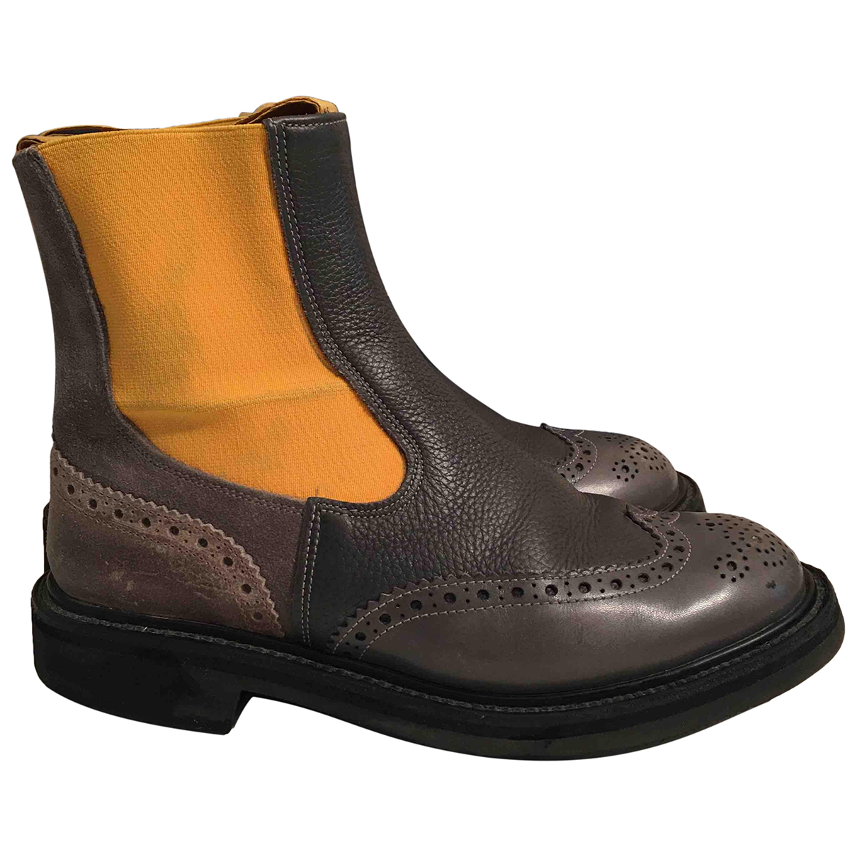 Trickers London \N Stiefeletten in  Bunt Leder