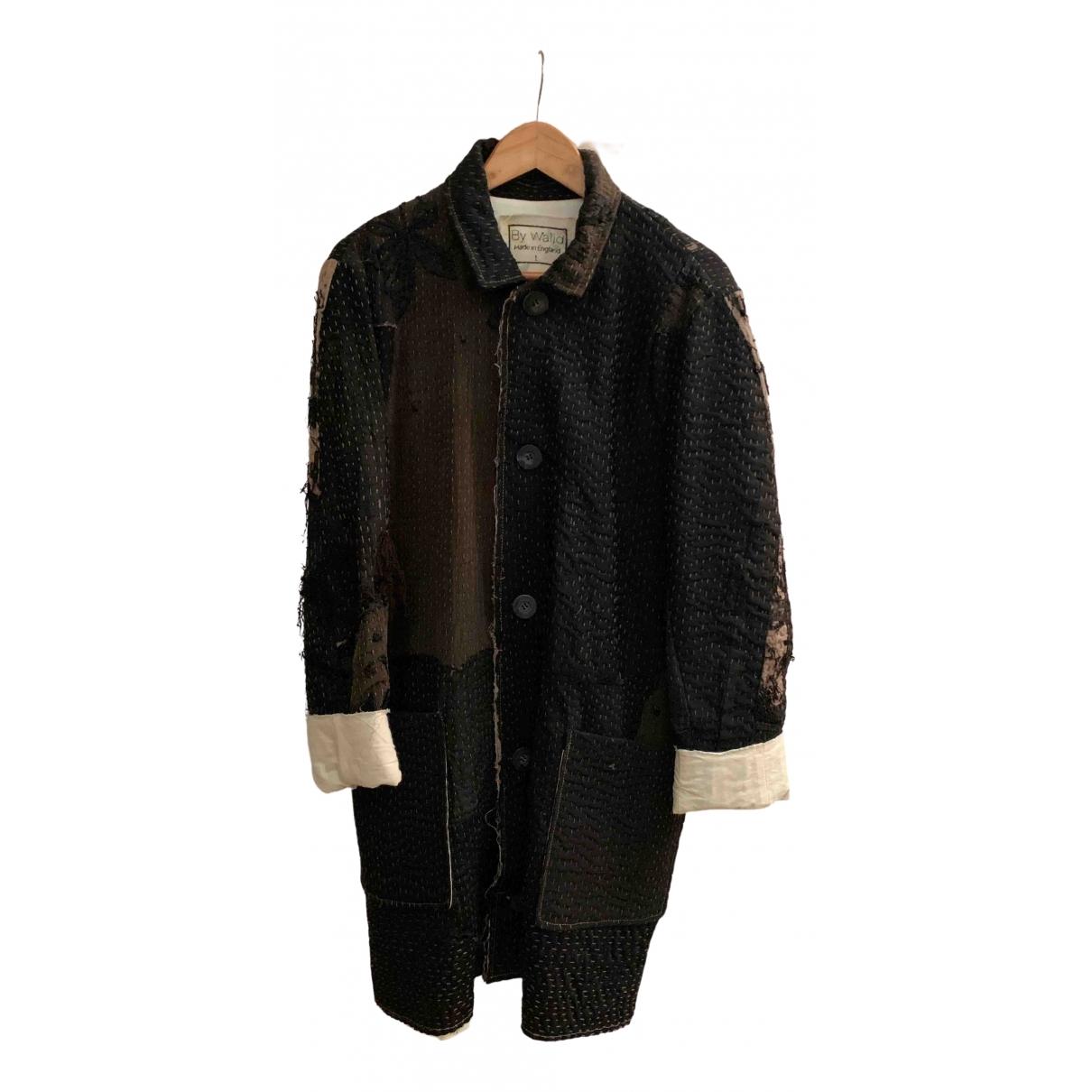 By Walid \N Black Cotton coat  for Men L International