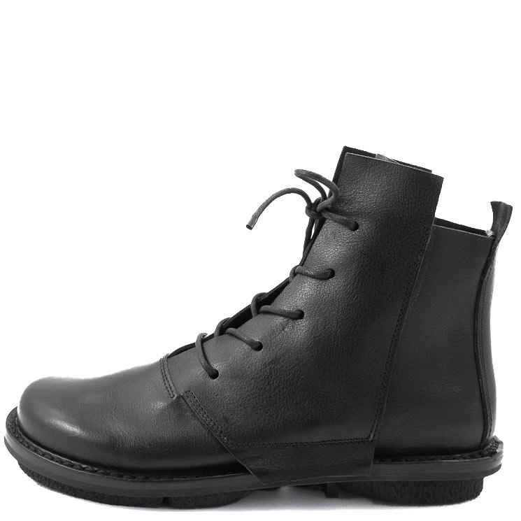 Trippen, Lumber m Closed Men's Bootees, black Größe 45