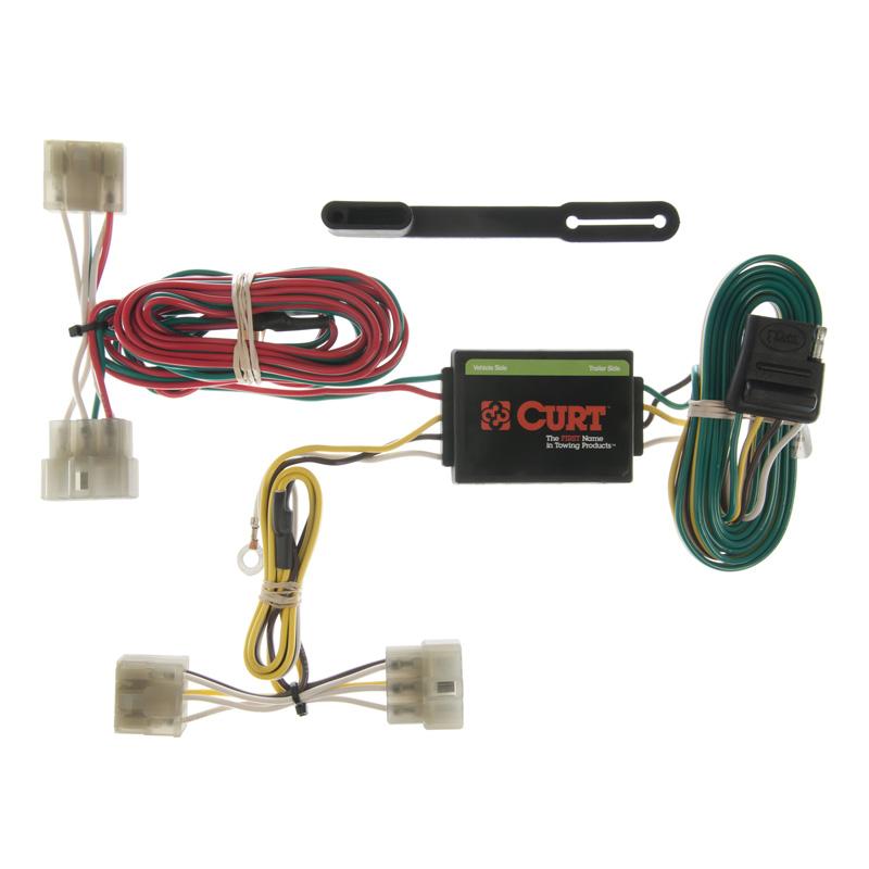 Curt 55371 Custom Wiring Harness (4-Way Flat Output)
