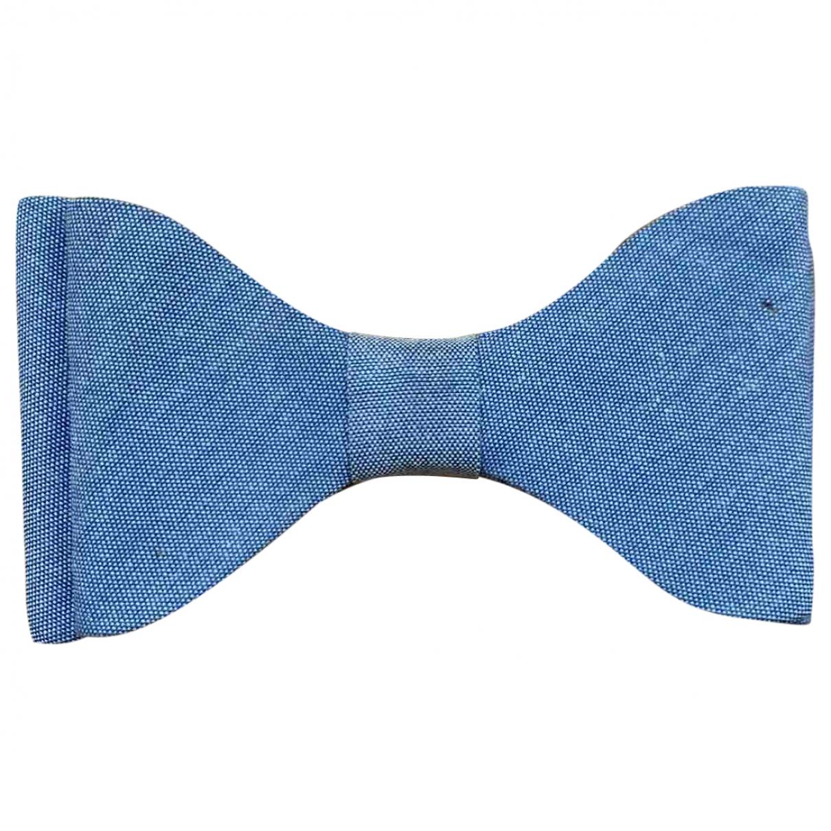 Fendi - Broche   pour femme en toile - bleu