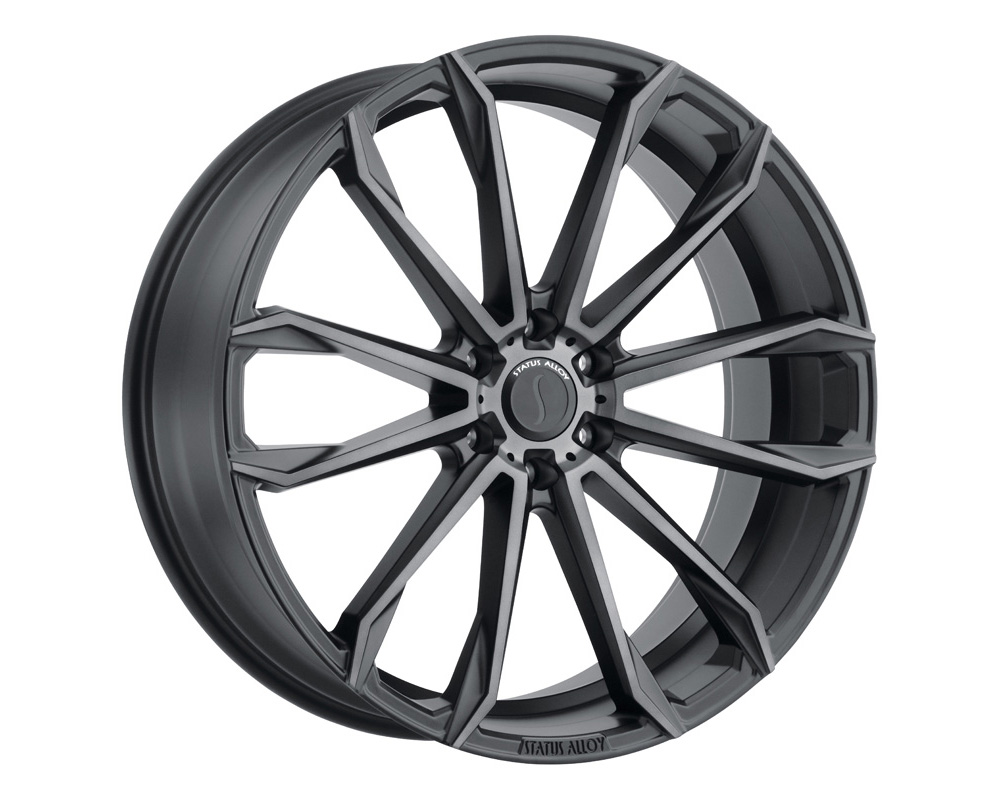 Status Mastadon Wheel 22x9.5 6x139.7 15mm Carbon Graphite