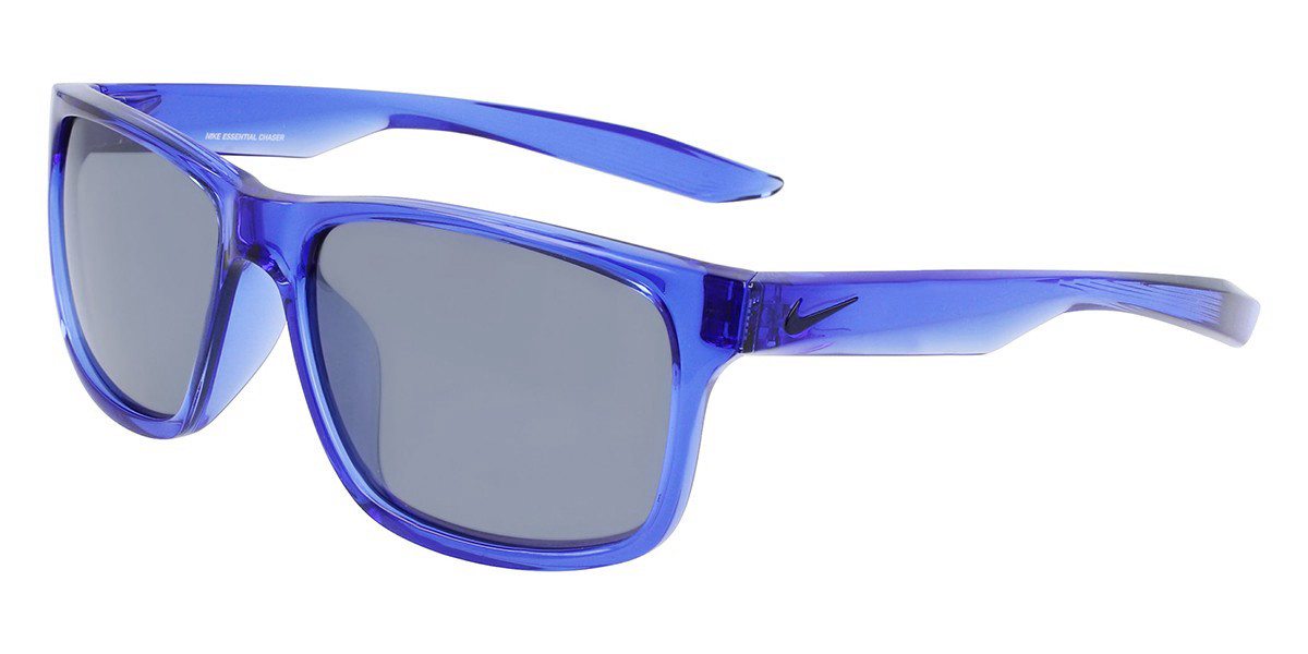 Nike ESSENTIAL CHASER EV0999 478 Men's Sunglasses Blue Size 59