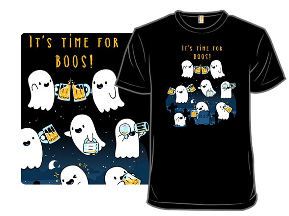 Time For More Boos T Shirt