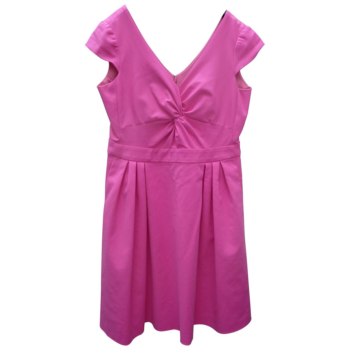 Armani Collezioni \N Kleid in  Rosa Baumwolle - Elasthan