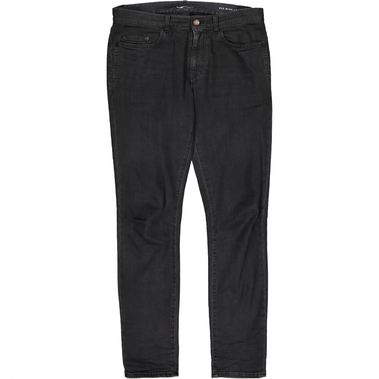 Saint Laurent \N Grey Cotton - elasthane Jeans for Men 31 US